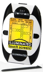 Illuminated Touch Screen 3-in-1 Dominoes