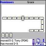LSL Dominoes for PalmOS