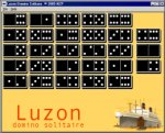 Luzon Domino Solitaire