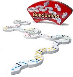 Bendomino: Dominoes With a Twist!